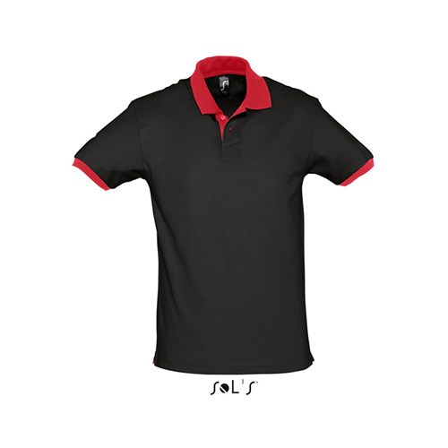 Polo Prince Black/Red