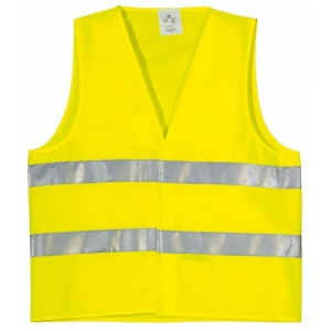 Γιλέκο Φωσφοριζέ Goall Way Κίτρινο