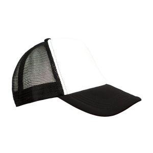 Καπέλο Trucker Άσπρο-Μαύρο