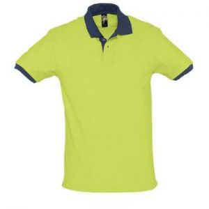 Polo Prince Apple Green/French Navy